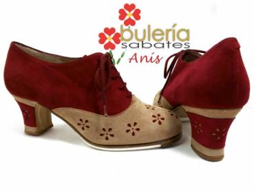 Flamencoschuhe Model Anis