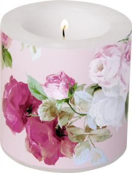 Windlicht SCARLETT light rose klein