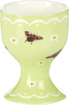 Eierbecher LITTLE LADYBIRDS mint Porzellan