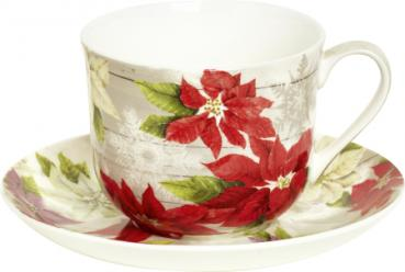 Bone China Milchkaffeetasse SALLY